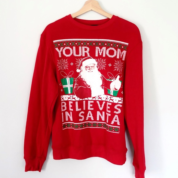 Ugly Christmas Sweater Funny.Funny Ugly Christmas Sweater Your Mom Fifth Sun